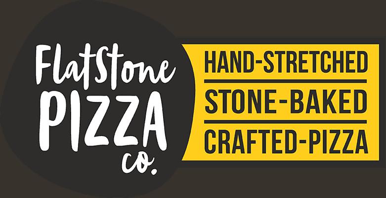 Flat Stone Pizza Large Logo