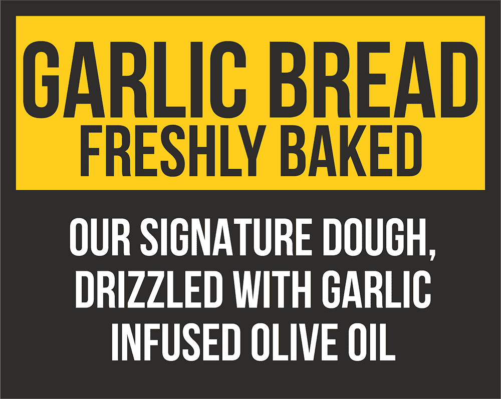 Garlic Bread Freshly Baked